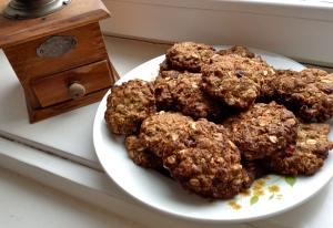 Ovesné makové sušenky
