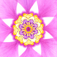 Kamarádská láska: mandala pro utužení přátelské lásky